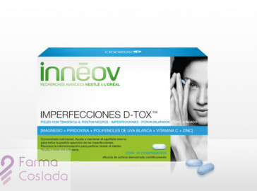 INNEOV IMPERFECCIONES D-TOX - (40 COMP )
