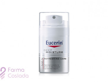 EUCERIN MEN DEEP MOISTURE CUIDADO REFRESCANTE - (50 ML )
