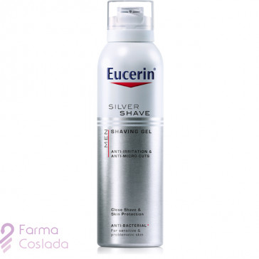 EUCERIN MEN SILVER SHAVE GEL DE AFEITAR - (150 ML )