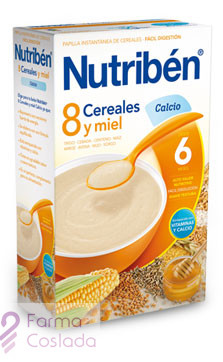 NUTRIBEN 8 CEREALES Y MIEL CALCIO - (300 G )