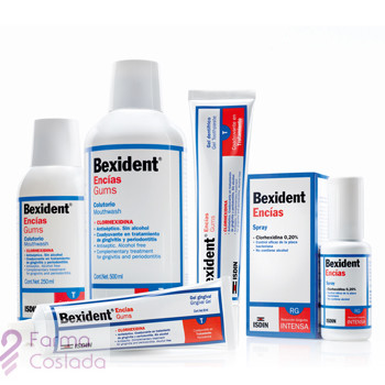 BEXIDENT ENCIAS COLUTORIO TRICLOSAN - (250 ML )