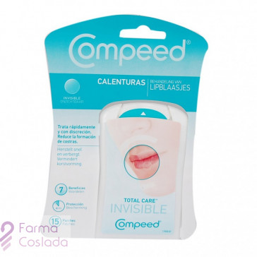 COMPEED CALENTURAS - TOTAL CARE PARCHE HIDROCOLOIDE (15 PARCHES )