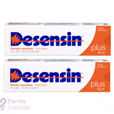 DESENSIN PLUS PACK PASTA DENTAL - (150 ML 2 U )