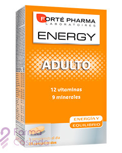 ENERGY MULTIVIT ADULTO - (28 COMP )
