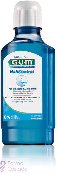 GUM HALICONTROL COLUTORIO - (300 ML )