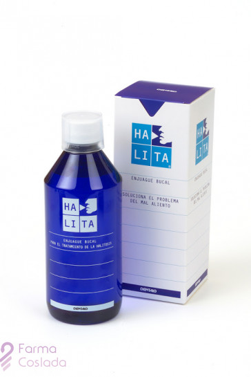 HALITA ENJUAGUE BUCAL - (500 ML )