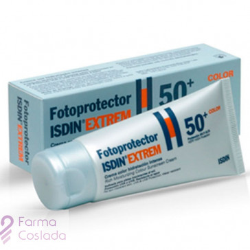 FOTOPROTECTOR ISDIN EXTREM SPF-50+ CREMA COLOR - (50 ML )