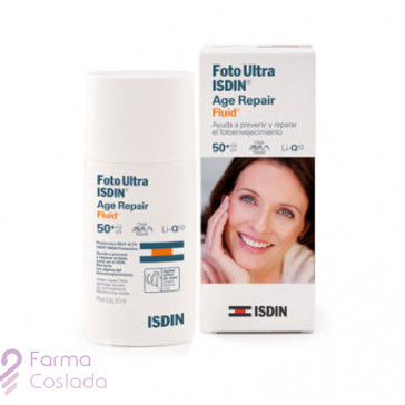 FOTOULTRA ISDIN AGE REPAIR FLUID 50+ - (50 ML )