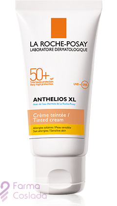 ANTHELIOS XL 50+ CREMA PANTALLA COLOREADA - LA ROCHE POSAY (50 ML )