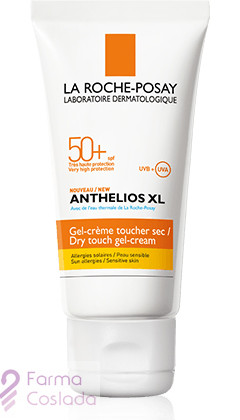ANTHELIOS XL 50+ GEL CREMA TACTO SECO - LA ROCHE POSAY (50 ML )