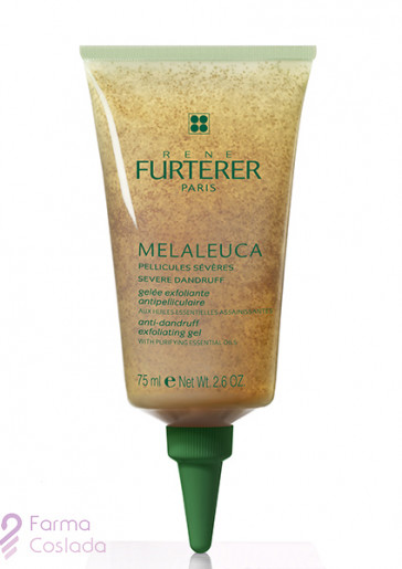 MELALEUCA GEL EXFOLIANTE ANTICASPA - RENE FURTERER (75 ML )
