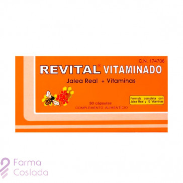 REVITAL JALEA REAL VITAMINADO - (30 CAPS )