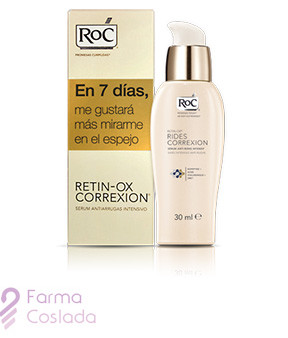 ROC RETIN-OX WRINKLE CORREXION - ANTIARRUGAS SERUM INTENSIVO (30 ML )