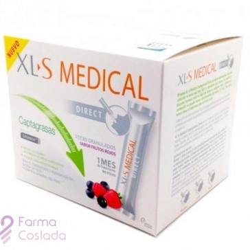 XLS MEDICAL DIRECT STICKS CAPTAGRASAS - (90 STICKS )