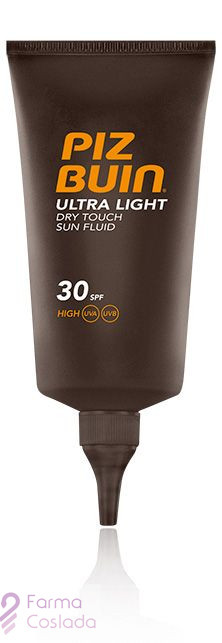 PIZ BUIN FPS -30 ULTRA LIGHT DRY TOUCH - PROTECCION SOLAR CUERPO ALTA FLUIDO (150 ML )