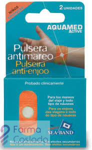 AQUAMED ACTIVE PULSERA ANTIMAREO - (NIÑO 2 U )