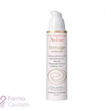 AVENE SERENAGE UNIFIANT SPF 20 - (40 ML )
