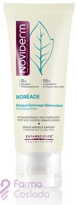 BOREADE MASCARILLA EXFOLIANTE Y DESINCRUSTANTE - (40 ML )