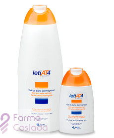 LETI AT-4 GEL DE BAÑO DERMOGRASO - (750 ML )