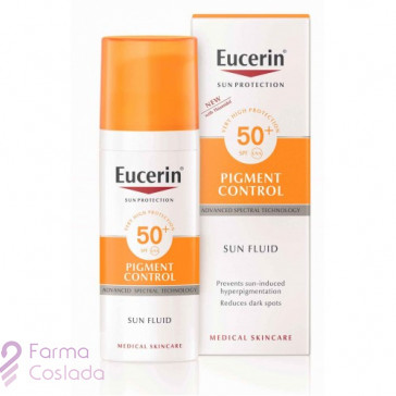 Eucerin Sun Cream Pigment Control  FPS 50+ (50ml)