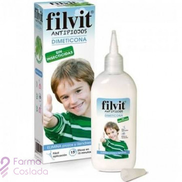 FILVIT ANTIPIOJOS DIMETICONA - (125 ML )