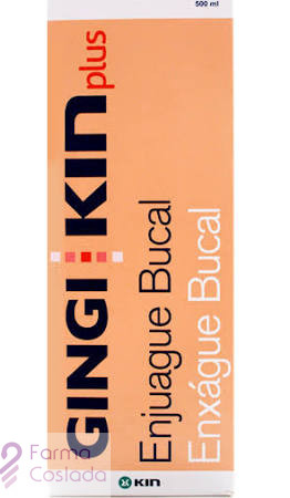 GINGIKIN PLUS ENJUAGUE BUCAL - (500 ML )