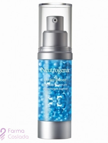 Neutrogena Hydro Boost capsule-in-serum. Hyaluronic Acid + Vitamin E capsules.