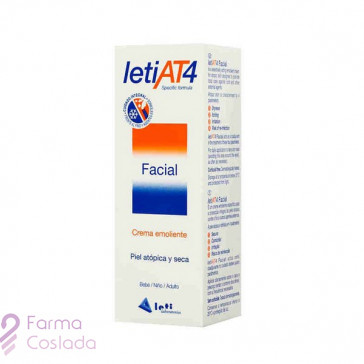 LETI AT-4 CREMA FACIAL - (50 ML )