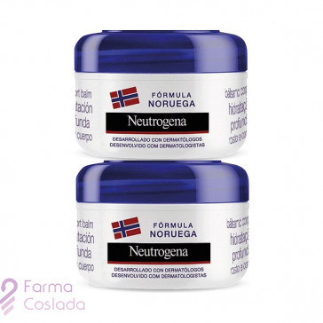 NEUTROGENA INTENSIVA BALM ULTRA NUTRITIVO - (300 ML+ 300 ML )