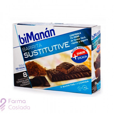 BIMANAN BARRITA CHOCOLATE NEGRO FONDANT - (40 G 320 G 8 BAR )