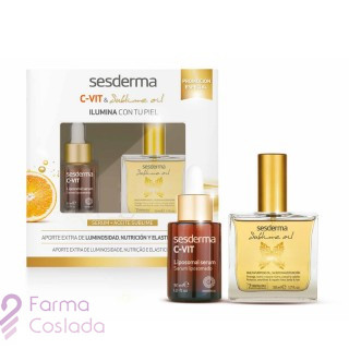PACK SESDERMA C-VIT SERUM + ACEITE SUBLIME EXTRACTO VEGETAL