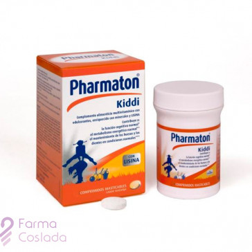 PHARMATON KIDDI - (30 COMP MASTICABLES )