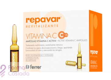 REPAVAR  Ampollas Efecto Flash (5 X 1.5ml)