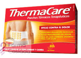 THERMACARE ZONA LUMBAR Y CADERA - PARCHES TERMICOS (4 PARCHES )