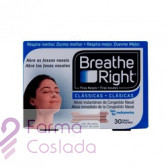 BREATHE RIGHT - TIRA ADH NASAL (COLOR T- GDE 30 U )