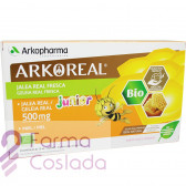 JALEA REAL FRESCA 500mg JUNIOR ARKOREAL AMPOLLAS - (50O MG 20 AMP )