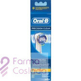 CEPILLO DENTAL ELECTRICO RECARGABLE - ORAL-B PRECISION CLEAN RECAMBIO (EB 17-3 3 U )