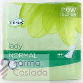 ABSORB INC ORINA LIGERA - TENA LADY NORMAL (24 U )