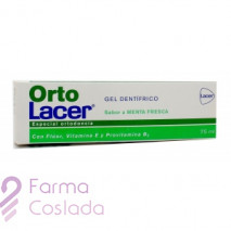 ORTOLACER GEL DENTIFRICO - (MENTA 75 ML )