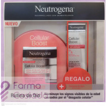 Pack Cellular Boost Neutrogena Crema día + Contorno Ojos Regalo (50ml+15ml)