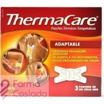 THERMACARE ADAPTABLE - PARCHES TERMICOS (3 PARCHES )